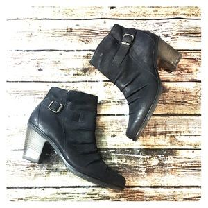 Paul Green Side Buckle Ankle Boots